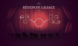 RÉGION DE L'ALSACE