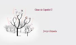 Clase de Español 3