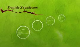 Fragiele X syndroom