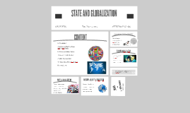 State and Globalization