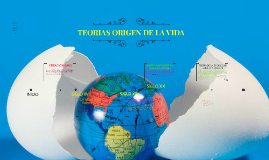 TEORIAS ORIGEN DE LA VIDA