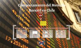 Comportamiento del Mercado Bursátil en Chile