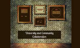 University and Community Collaboration