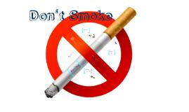 School Project - Don't Smoke