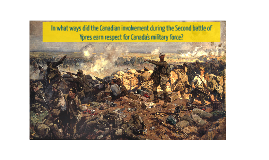 Second battle of Ypres
