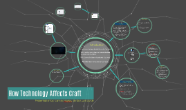 How Technology Affects Craft