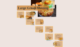 Large Group Meeting 5/18