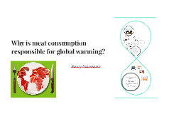 Why is meat consumption responsible for global warming?
