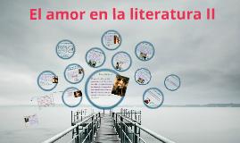El amor en la literatura II