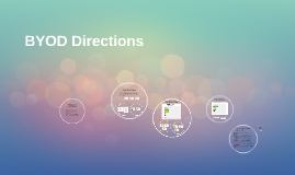 BYOD Directions