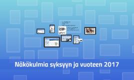 Loppupuheenvuoro AmmatillisE+n kesäpäivissä 10.6.2016, Kalastajatorppa, Helsinki