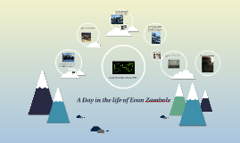 A Day in the life of Evan Zambole