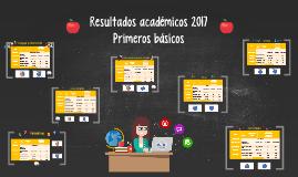 Resultados académicos 2017