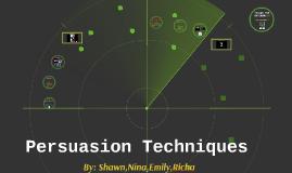 Persuasion Techniques
