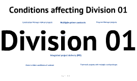 Copy of Division 01 - It's not boilerplate
