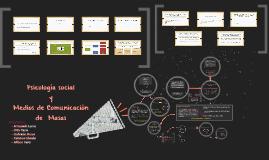 Psicología social y Medios de Comunicación de Masas