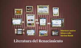 Copia de Literatura del Renacimiento