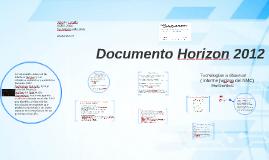 documento Horizon 2012