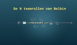 De 8 teamrollen van Belbin