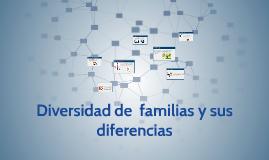 diversidad de  familias y sus diferencias
