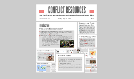Animated CONFLICT RESOURCES