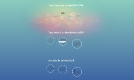 Valor Presente Neto (VPN o VAN)