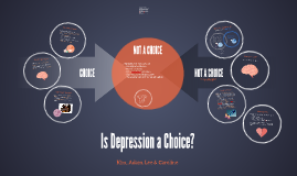 Is Depression a Choice?