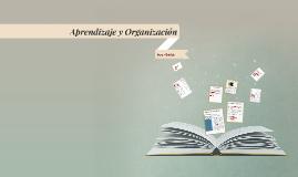 Aprendizaje y Organización