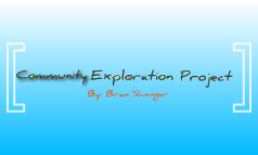 Community Exploration Project