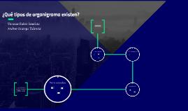 ¿Qué tipos de organigrama existen?