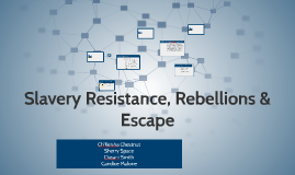 Slavery Resistance, Rebellions & Escape