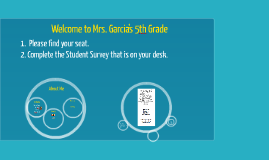 Welcome to Mrs. Garcia's 5th Grade