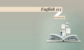 Copy of English 113