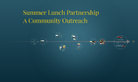 Summer Lunch Partnership 2017