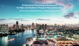 Environmental Psychological Assessment for High-rise Residen