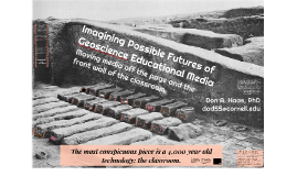 Imagining Possible Futures of Geoscience Educational Media