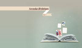 Svenska författare
