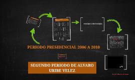 Copy of SEGUNDO PERIODO DE ALVARO URIBE VELEZ
