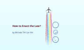 how to enact law