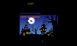 Halloween Lesson -Gr4/5
