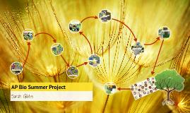 AP Bio Summer Project