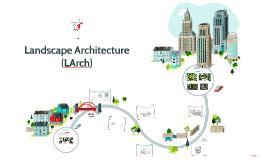 Landscape Architecture 2018