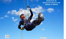 Copy of Elementos de proteccion personal de trabajo en alturas