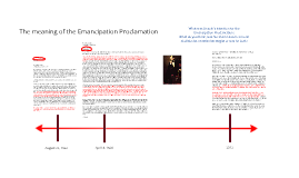 The Meaning of the Emancipation Proclamation