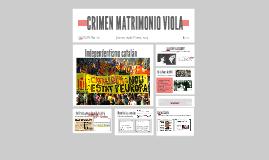 CRÍMEN MATRIMONIO VIOLA