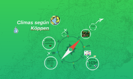 Climas según Köppen