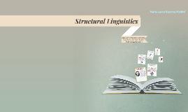 Copy of Structural Linguistics