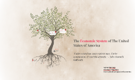 The Economic System of The United States of America