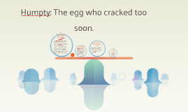 Humpty: The egg who cracked too soon.