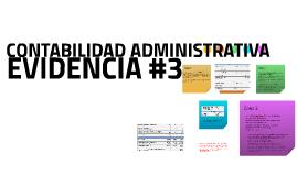 Evidencia No.3 Contabilidad Administrativa
